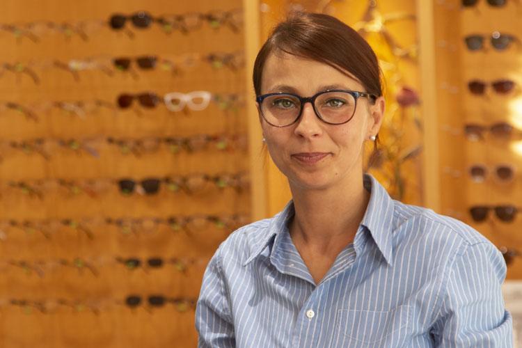 Augenopitikerin Hava Hodzic